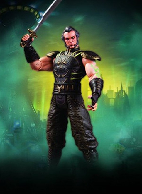 DC Collectibles Arkham City: Ras Al Ghul Series 3 Action Figure Renkli